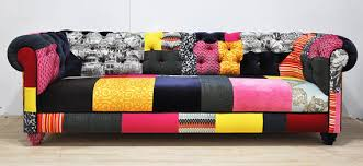 Chesterfield Patchwork Sofa Color Patch Chesterfield Patchwork Sofa Chesterfield
