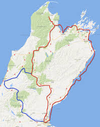 New Zealand On Map New Zealand Holiday Greg And Caths Adventures