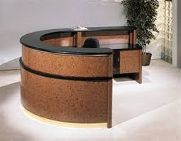 Reception Desk Curved Modern Reception Desks San Diego California Office Furniture