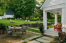 New England Backyards by Three Mango Seeds Backyard Landscape Ideas