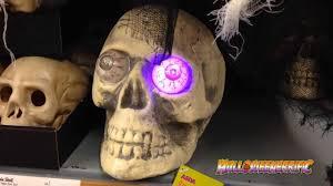 light up demon eyes skull asda halloween 2013 youtube