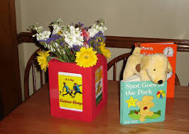 Curious George Centerpieces by My Book Baby Shower Part 1 My Mini Adventurer