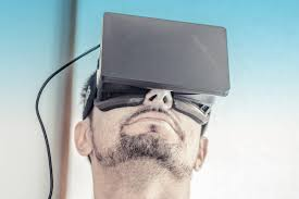 architecture designer designing for the future with augmented and virtual reality tools
