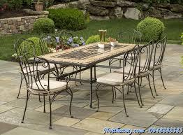 Wrought Iron Furniture Outdoor Italian Style Part - Italian outdoor furniture