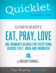Eat Pray Love Barnes And Noble Eat Pray Love One Woman U0027s Search For Everything Across Italy