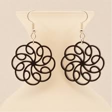 filigree earrings laser cut filigree earrings ottava designs