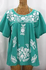 embroidered blouses la mariposa libre plus size peasant blouse mint green