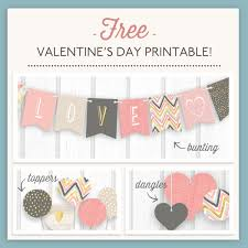 Valentine S Day Decor For The Office by Free Valentine U0027s Day Printables Pear Tree Blog