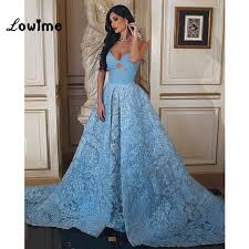 muslim engagement dresses burgundy muslim baby blue lace formal evening dress