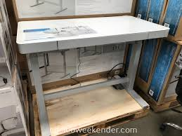 Adjustable Height Desk by Tresanti Nouveau Adjustable Height Desk Costco Weekender