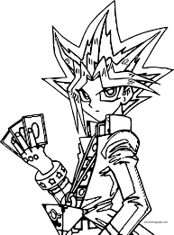 yu gi oh coloring pages wecoloringpage