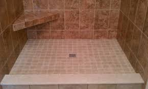 custom tile shower pans tile company rochester ny deangelis tile
