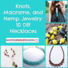 beads knots necklace images Knots macrame and hemp jewelry 10 diy necklaces jpg