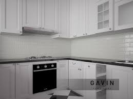 white kitchen set furniture desain kitchen style cibubur gavin furniture kitchen