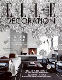 elle decor christmas interior design ideas
