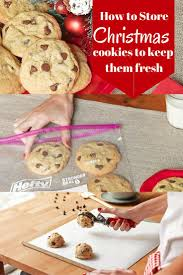 tips and tricks on how to store you christmas cookies to keep them