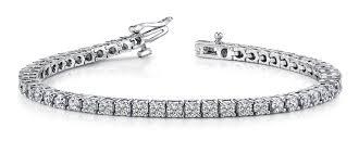 classic diamond bracelet images Classic diamond prong set bracelet crown jewelers jpg