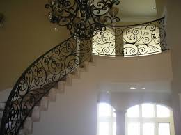 Wrought Iron Banister Wrought Iron Staircase Railings U2014 John Robinson House Decor