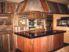 Old Western Home Decor Beautiful Bar Area Love The Brick And Antique Beams Incredible