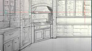 interior design sketch with autodesk sketchbook pro 6 u0026 wacom