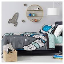 Sun And Moon Bedding Many Moons Sheet Set Pillowfort Target