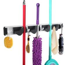 best wall mounted mop and broom holders reviews findingtop com
