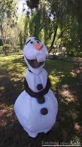 olaf costume for halloween diy olaf costume for halloween