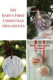 christmas ornaments baby diy baby s christmas ornaments
