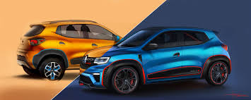 renault kwid black colour world premiere of renault kwid racer and renault kwid climber at