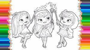 little charmers coloring pages for kids learn coloring for kids