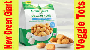 trying green giant cauliflower veggie tots youtube