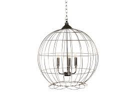 marais 6 light orb chandelier by ballard designs havenly patton chandelier silver