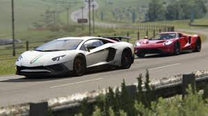lamborghini aventador gt lamborghini aventador sv vs ford gt at highlands
