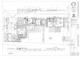 hospital modern building design a floor plan idea finished with