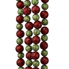 lime green christmas ornaments and decorations