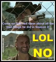 Walking Dead Memes Season 3 - the walking dead memes