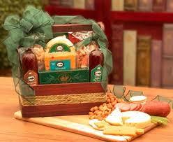 Nut Baskets Manly Mans Sausage U0026 Nut Tote Gift Basket Guru