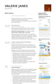 Resume Examples For Graphic Designers by Self Employed Resume Samples Visualcv Resume Samples Database