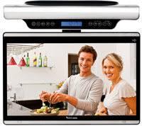 Kitchen Under Cabinet Tv by Venturer Klr19132 15 6 Inch 60hz Lcd Tv With Under Cabinet Wi Fi