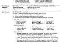 Software Engineer Resume Template Experienced Resume Template Free Resume Samples