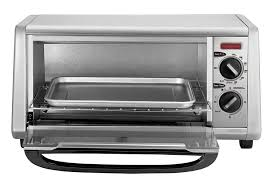 Portable Toaster Oven Amazon Com Black Decker To1430s 4 Slice Toaster Oven Stainless