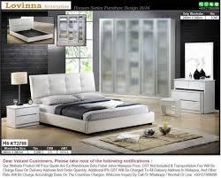 Bedroom Furniture Designs With Price Lovinna Product Malaysia Bedroom Set