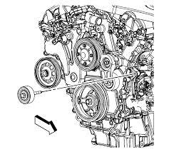 2011 cadillac srx manual repair on vehicle drive belt idler pulley