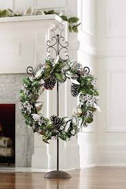 46 best wreath stands welcome posts images on wreath
