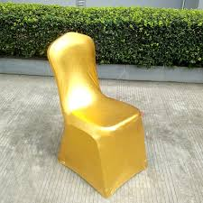 Gold Spandex Chair Covers Metallic Chair Cover Metallic Chair Cover Suppliers And
