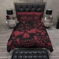 Red King Size Comforter Sets 100 Black And Red Bedding Sets King Bedroom Paisley