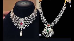 necklace designs silver images Latest silver jewellery designs jpg