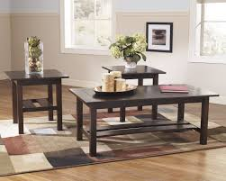 buy ashley furniture t309 13 lewis 3 piece coffee table set