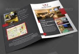 contoh desain brosur hotel inspirasi desain brosur hotel 2 jasadesainkilat