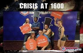 crisis at 1600 escape room americas escape game